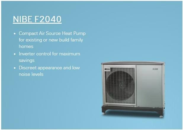 NIBE Air Source Heat Pumps