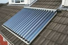 Solar Thermal Water Heating Systems - Solar Thermal Evacuated Tubes